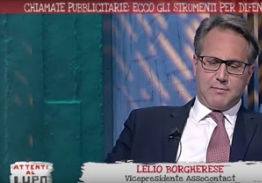 Il presidente di Network Contacts Lelio Borgherese ospite di Tv2000